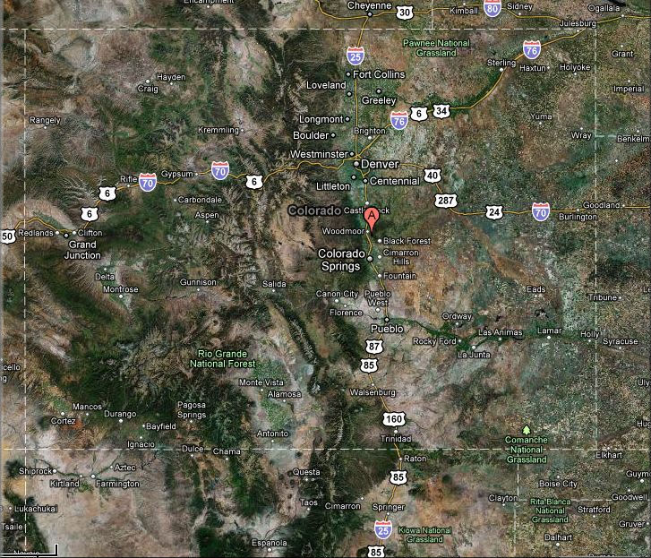Current Conditions At , Colorado Springs, Colorado