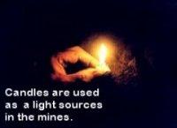 Amber Mine Candle