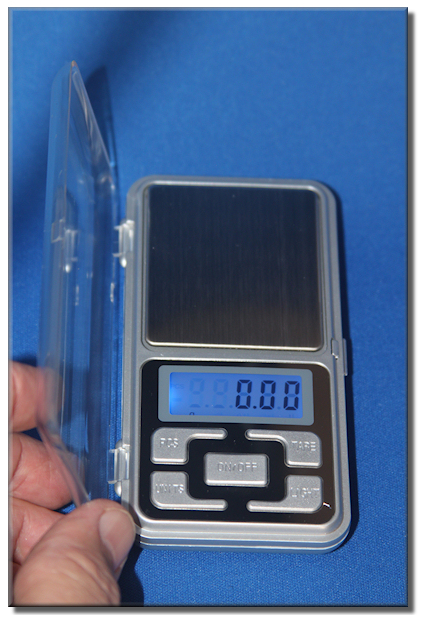 Touch Screen Pocket Scale