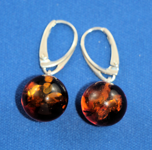 Baltic Amber Necklaces Jewelry Fossil Inclusions
